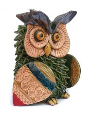 Green owl (5in)