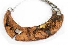 Ice Wood necklace