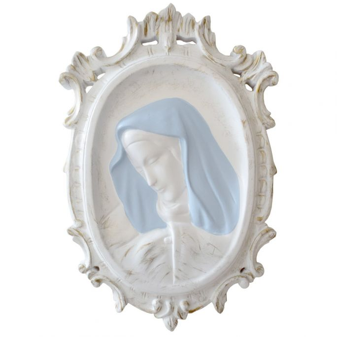 Basrelief Madonna with frame