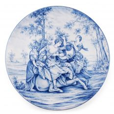 Plate with mythological painting