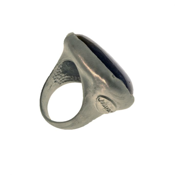 "Ring ""Solo Uno"" Cyanite"