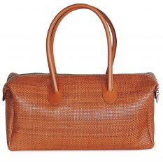 Boston Bag big ELISA braided leather