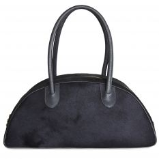 Half-moon bag big PAOLA ponyskin