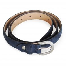 Suede woman's belt