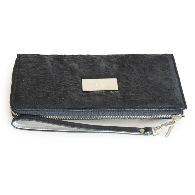 Cowhide wallet-case