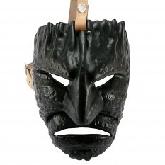 Leather Mamuthones mask 01