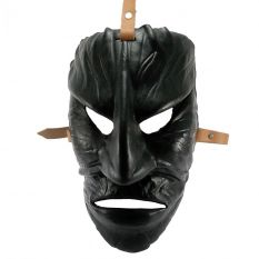Leather Mamuthones mask 02