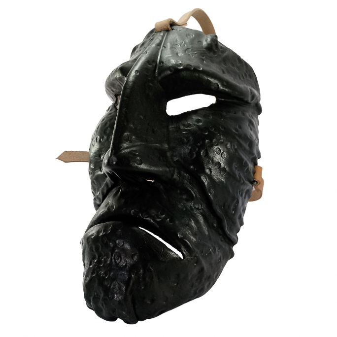Leather Mamuthones mask 03
