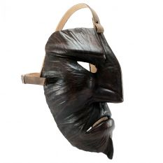 Leather Mamuthones mask 05