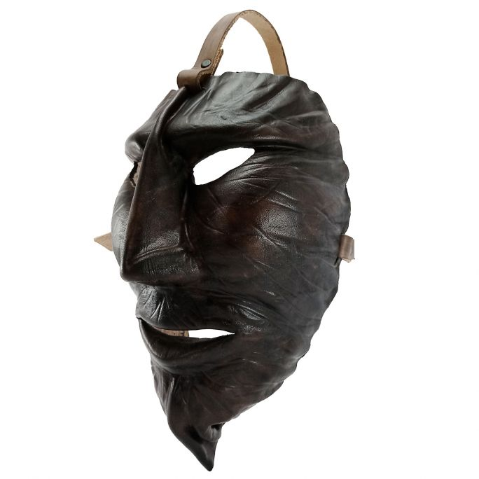 Leather Mamuthones mask 06