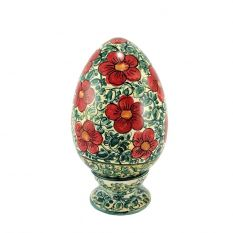 Artistic egg dec. Floral