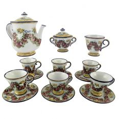 Tea service dec. Garland