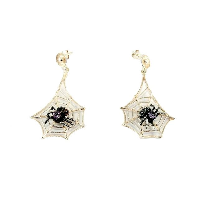 """Spider"" earrings"