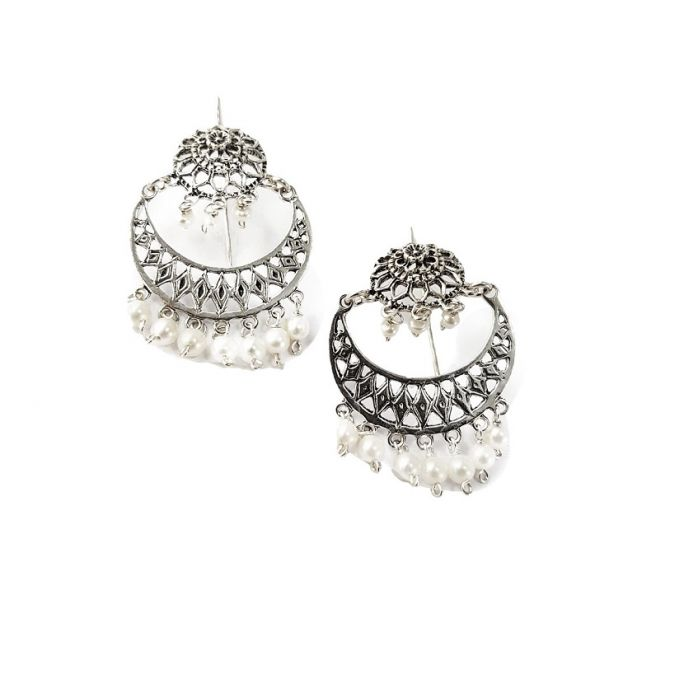 Circeglie earrings in silver