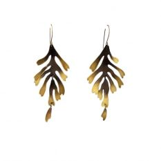 Leaf earrings