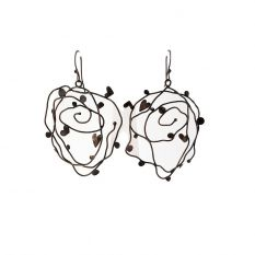Natural Heart earrings