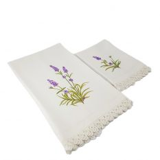 Pair of Floral Towels
