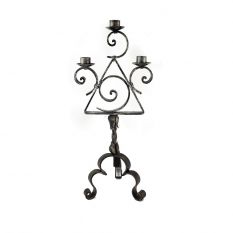Three flames candlestick