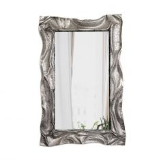 Vertical embossed mirror
