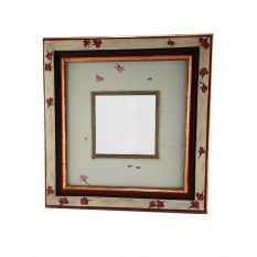 "Frame with mirror ""Leaves in the wind"""