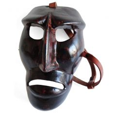 Wooden Mamuthones mask 02