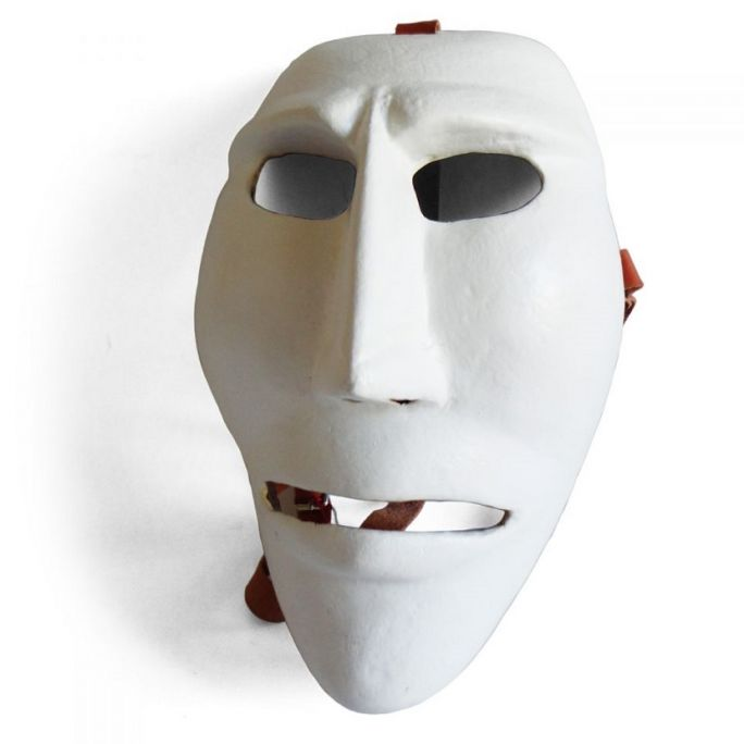 Wooden Issohadores mask 03